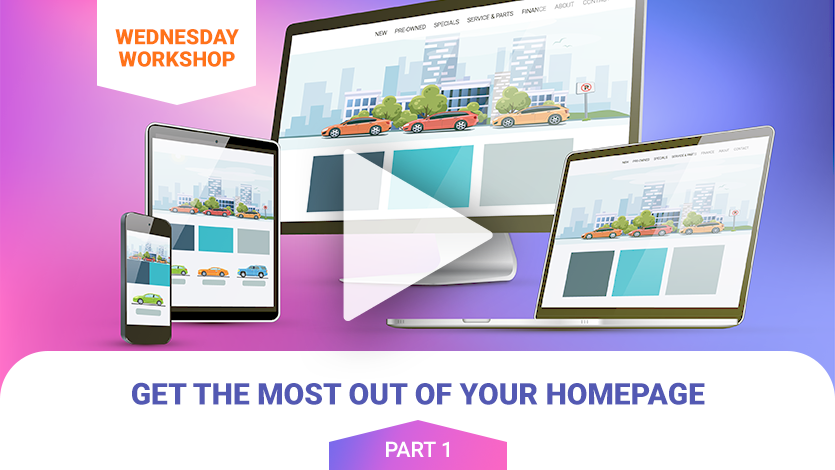 Get the Most Out of Your Homepage (pt1)