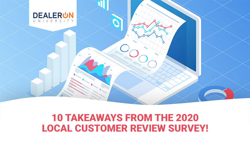 Takeaways from the 2020 local customer review survey